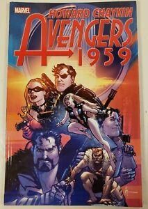 2012-Marvel-Comics-Howard-Chaykin-Avengers-1959-Graphic-Novel-Paperback-Book