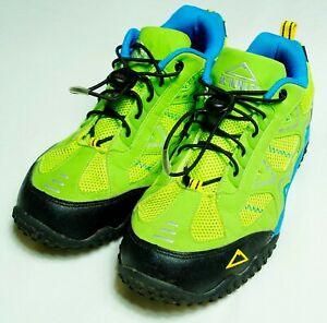 Womens-Hiking-Shoes-MCKINLEY-Hembo-2-Boots-Low-Athletic-Green-Size-UK-6-EU-39