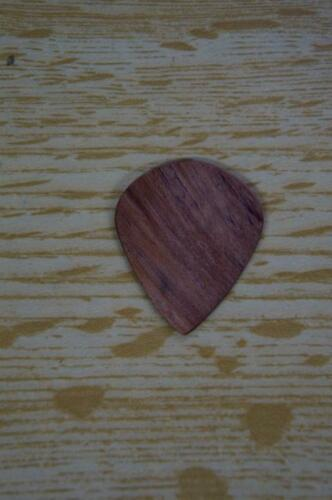 Single Pick 1.10 mm US Blues Flex Wood Jazz Guitar Pick Bubinga