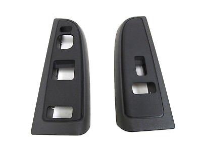 OEM NEW Front Right /& Left Window Switch Bezel Pewter SET 04-07 Silverado Sierra
