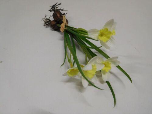 3 x GIUNCHIGLIA osterglocke Cipolla Primavera fiore seta fiore d/'arte 1116050-34 f64