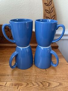 Corelle-Coordinates-Dark-Blue-Coffee-Set-of-4-Cups-Mugs-Stoneware-Hometown