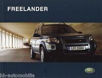 Prospekt Land Rover Freelander 2003 Autoprospekt Broschüre Auto PKWs brochure
