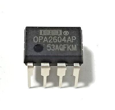 5 Pièces OPA2604AP DIP-8 OPA2604 Amplificateur opérationnel