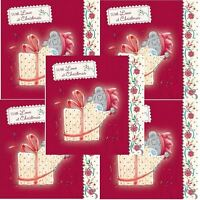 Me To You Christmas Card 10 Pack - Open Gift With Love Tatty Teddy Bear