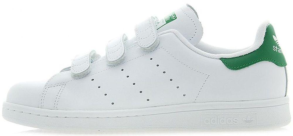 ADIDAS STAN SMITH CF COMFORT Blanco-Verde old school sneakers retro casual sneakers school Nuevo 8d4c08