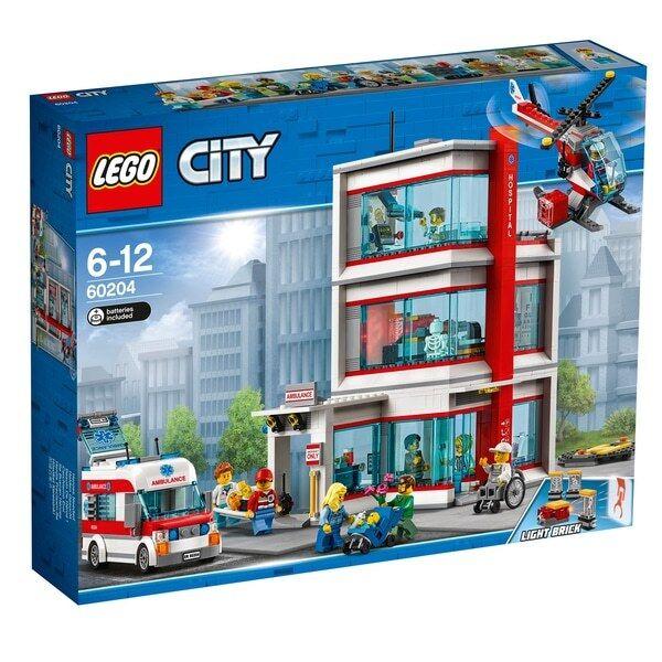 Lego 60204 City Town City Hospital BNISB