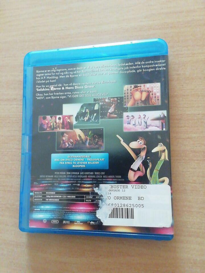 Disco Ormene, Blu-ray, andet