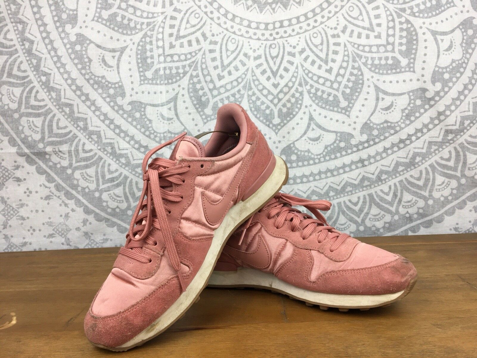Women's NIKE INTERNATIONALIST Trainers Shoes Pink, UK Comfortable best-selling model of the brand