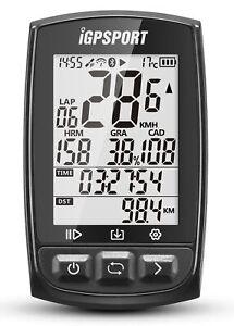 iGS50E GPS Fahrradcomputer ANT+ Fahrradtacho Fahrrad kabellos Geschwindigkeit