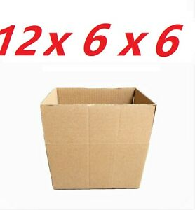 25-12x6x6-Cardboard-Paper-Boxes-Mailing-Packing-Shipping-Box-Corrugated-Carton