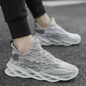 Men-039-s-Fashion-Blade-Sports-Sneakers-Casual-Breathable-Trainers-Running-Shoes-Jog