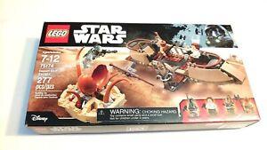 Lego Star Wars 75174 Desert Skiff Escape boxed