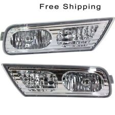 Set of 2 Fog Lights Lamps New Right-and-Left AC2593103 AC2592103 LH /& RH Pair