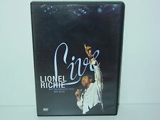 """*****DVD-LIONEL RICHIE""""LIVE-His Greatest Hits and More""""-2007 Def Jam*****"""