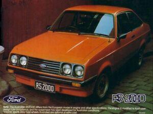 FORD-ESCORT-MKII-RS2000-SIGNAL-ORANGE-RETRO-POSTER-PRINT-CLASSIC-80-039-s-ADVERT-A3