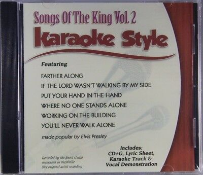 Hard-Working Songs Of The King Elvis Presley Volume 2 Christian Karaoke New Cd+g 6 Songs Karaoke Cdgs, Dvds & Media Musical Instruments & Gear