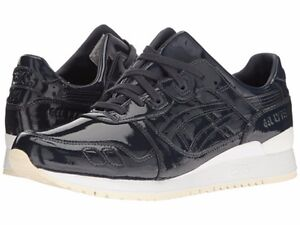 {H7H1L.5858} Men's ASICS GEL-LYTE III PATENT LEATHER (INDIA INK) *Brand New*