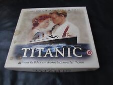 TITANIC - (Special Limited Edition) LEONARDO DICAPRIO KATE WINSLET VIDEO VHS