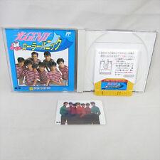 HIKARU GENJI Roller Panic + Card Nintendo Famicom Disk Japan Video Game 0177 dk