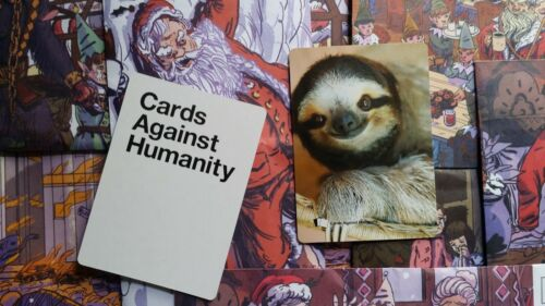 Cards Against Humanity SLOTH CARD SUPER RARE