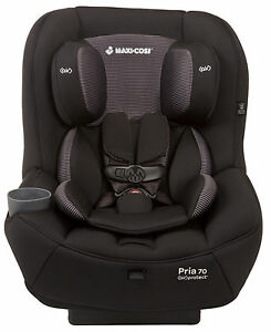 Maxi-Cosi Pria 70 Convertible Car Seat Child Safety w/ Air Protect Black Gravel