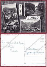 TRENTO SELLA GIUDICARIE 01 BONDO SALUTI da... Cartolina FOTOGRAFICA