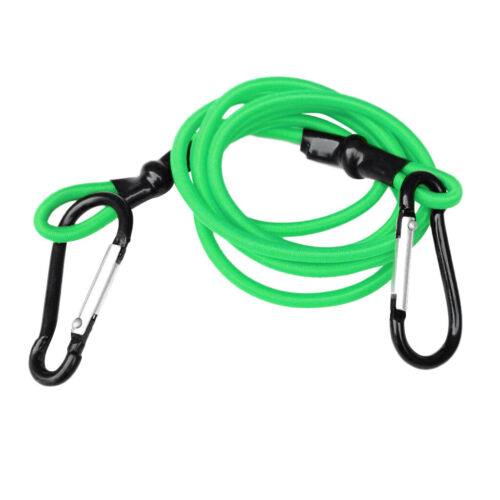 Details about  /3ft High Strength Elastic Kayak Tow Leash Tow Line Security Lanyard with 2