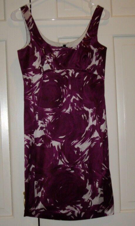 Nwt Theory Fandora Kleid Bengel Nadelrad Größe 2 Kleid Einzelhandel
