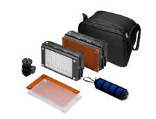 2x Z96 HDV-Z96 96 LED Light + F&V Padded Handle +Stand bracket Hot shoe adapter