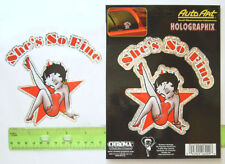 Betty Boop Red Dress Rock Star Pose Auto Car Truck SUV Vehicle Rearview Mirror Car Toyz Fuzzy Dice