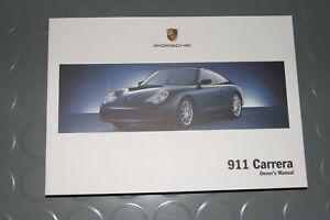 2004 porsche carrera 911 996 owners manual book ebay rh ebay co uk porsche 911 996 service manual porsche 911 996 repair manual