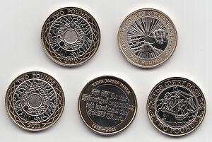 RARO due Pound Coin £ 2 2009 a 2019 scegli la tua ANNO-FIOR DI CONIO