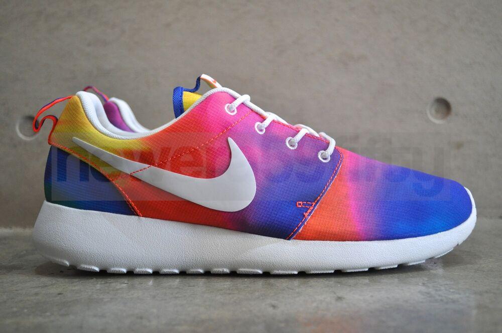 Nike roshe run-cour violet/blanc-ttl crimson-tl Crimson
