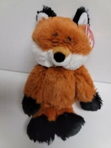 "Ty Attic Treasures Fred The Fabulous Fox - NEW MWMT Rare 6""  20cm Plush Perfect"