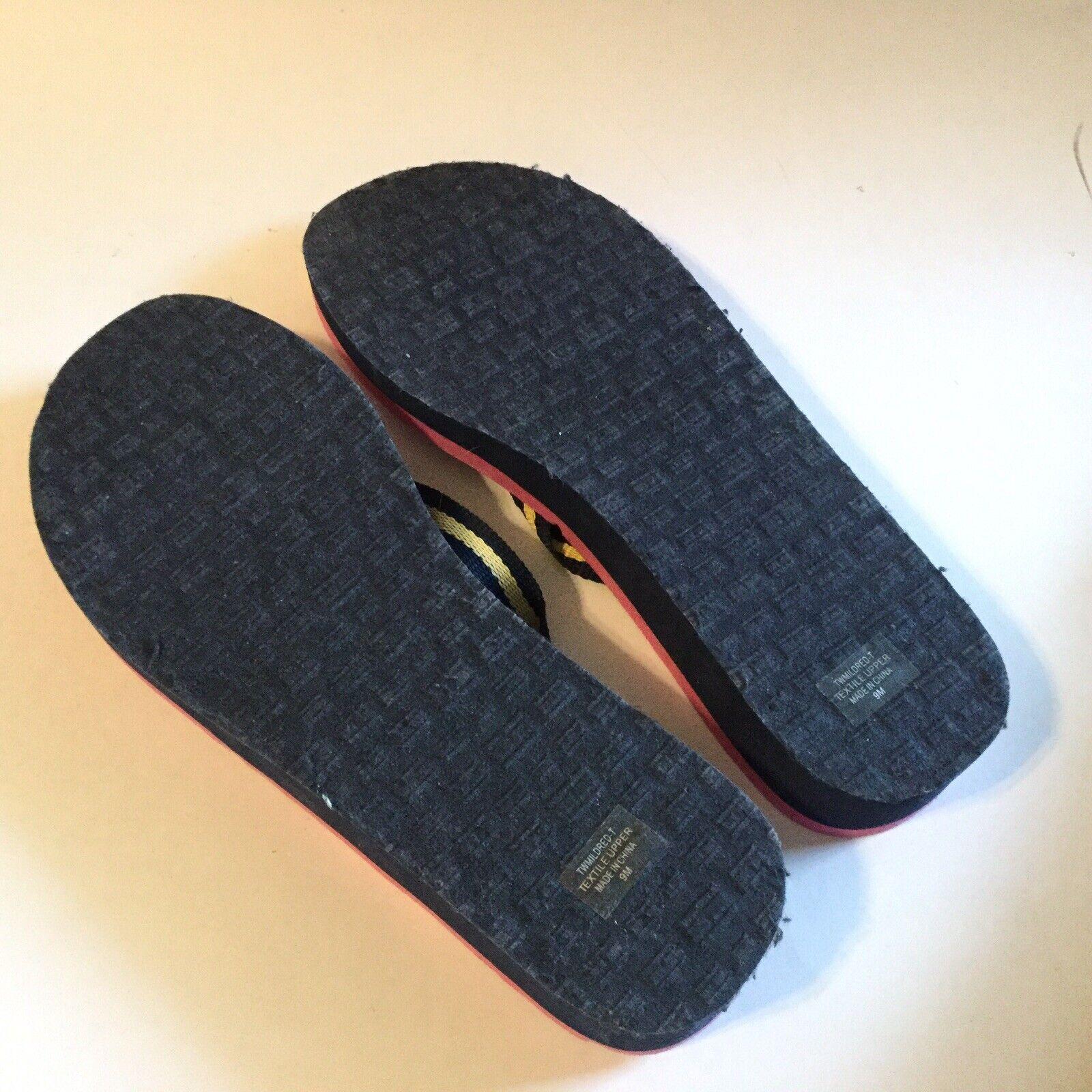 Tommy Hilfiger Women Size 9 Flip Flop Pink Navy S… - image 5