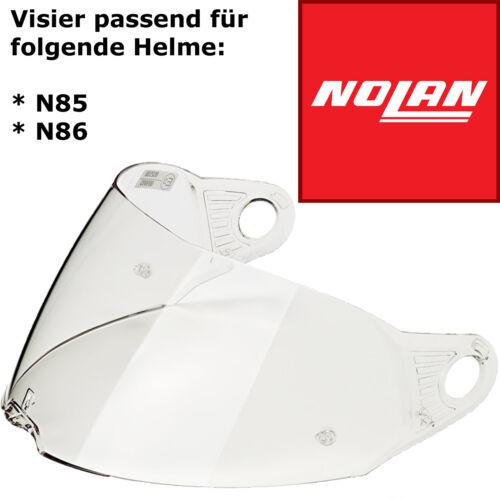 alle Modelle N86 NOLAN Visier KLAR PINLOCK VORBEREITET für Nolan N85