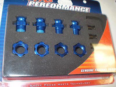 Traxxas TRA6856X Wheel hubs wheel nuts short 17mm 4 splined 17mm splined