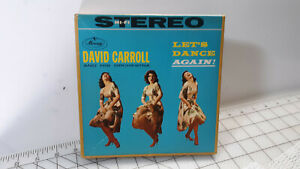 David-Carroll-and-His-Orchestra-LET-034-S-DANCE-AGAIN-4-Track-Reel-to-Reel-7-5-ips
