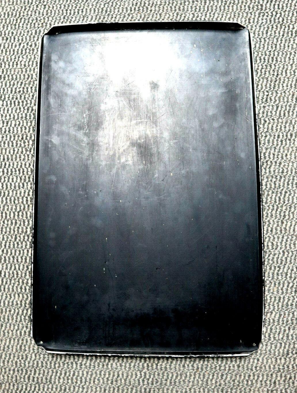 Thekenblech 10x Alu 60x40x2cm neu Ausstellbleche Kuchenbleche Alubleche Bleche