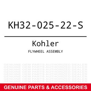 Kohler KH32-025-22-S Flywheel Assembly