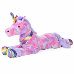 BCP-52in-Kids-Extra-Large-Plush-Rainbow-Unicorn-Stuffed-Animal-w-Soft-Fur