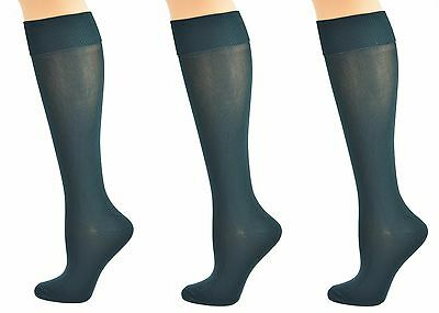 Sierra Socks Girls School Uniform Knee High 3 pair Pack Cotton Socks G7200 2321