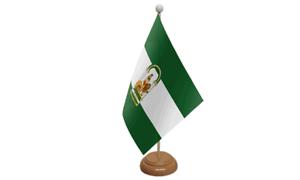 Andalusien Spanien Spanisch Tisch Flagge 229cm X 152cm Mit Holz