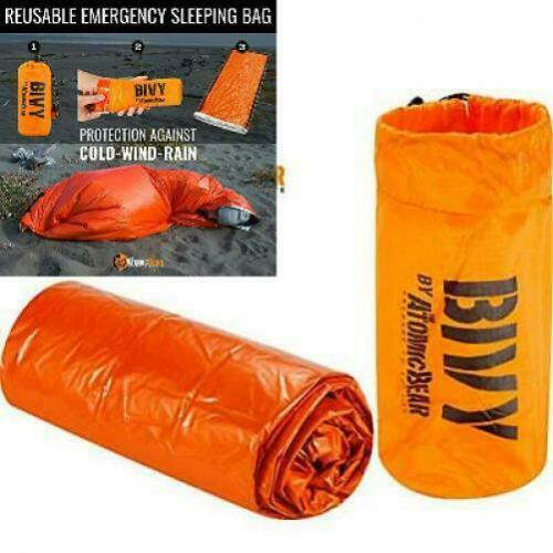 Bivy Emergency Sleeping Bag Lightweight and Compact Survival Gear Better...