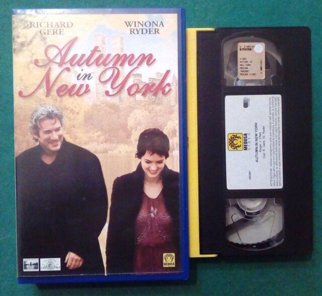 VHS Film Ita Sentimentale AUTUMN IN NEW YORK richard gere ex nolo no dvd (V78)°°