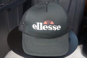 16559605b Details about Rare VTG WINNER Ellesse Italian Sportswear Company Trucker  Mesh Snapback Hat Cap