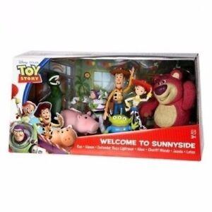 Disney-Toy-Story-Welcome-to-Sunnyside-Figure-Set-Rex-Hamm-Buzz-Alien-Lotso-Woody
