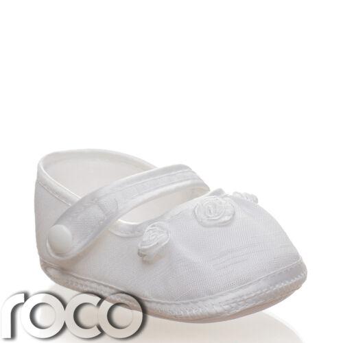 Baby filles baptême chaussures chaussures filles bébé blanc les filles Baptême Cadeau
