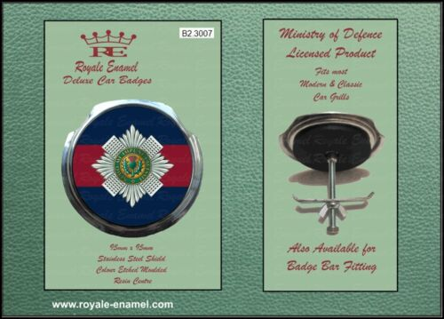 Royale Classic Car Grill Badge + Fittings - THE SCOTS GUARDS - B2.3007